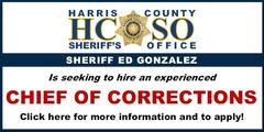 Harris County Sheriff's Office Banner Ad